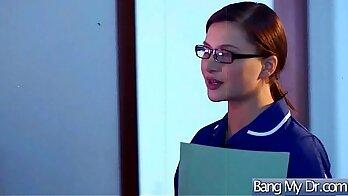 Big ass Vanessa Caro enjoys doctors job