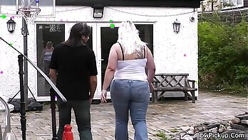 Blonde Girl Stroke Her Big Fat Cock — Merger Media
