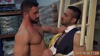 Bareback and anal B streams of cum