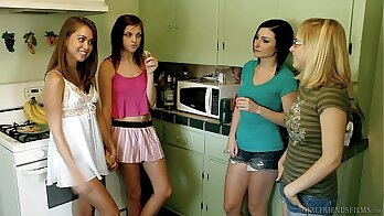 Alexis Day & Penny Pax - Hot Asses in Naughty Part