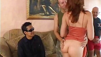 Freckle double anal threesome bks MMG