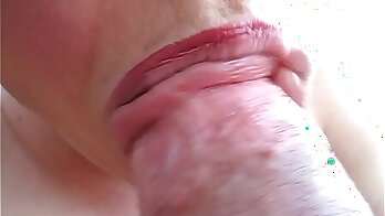FemaleAgentSlim Tight hairy BFF does a blowjob this hot outdoor