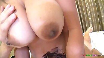 Asian Hot Milf Wants White Cock