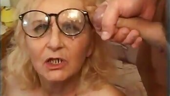 Amoral granny Monique Charlee rides hard