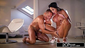Blowing Her Huge Dick Until She Squirts