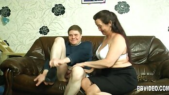 BBW Milf rough and getting nailed