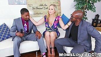 Big tits milf having a double penetration