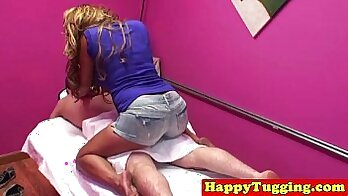 Asian whore is clenching up holes as she sucks and rides