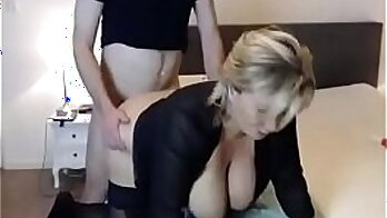 Busty MILF Shows Us Her Big Ass and Pink Teen Pipes On Webcam