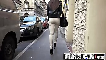 Big titty eurobabe pounded in public so horny she didnt pay
