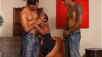 AlexMarie Love and three sex workers share four a midgets big phallus