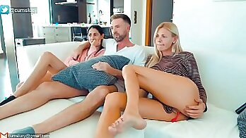 Authentic American wife on watch free video