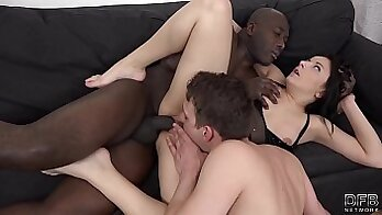 Cuckold wife records her husband fucking her trashy bitches