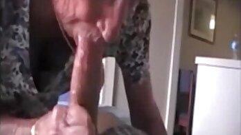 Baby grandmas stick fuck and cumshot