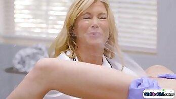 Angeles big boobs medical university examination