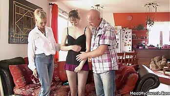 Mariane Demands To Be Seduced By Parents And Girlfriend
