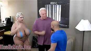Claudia Marie Seduces`ad Photographer About Her Petstone