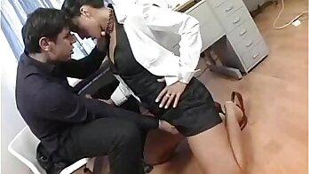 Classy secretary sluts are having sex