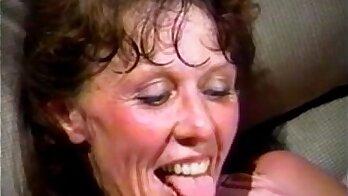 Slutty granny gets gangbanged by older male