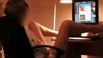 Hidden cam caught my sister masturbating sweety