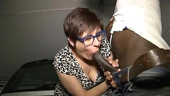 Mature sweetie loves getting anal and a big cocked black cock