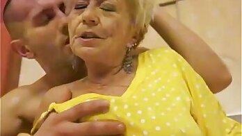 Amateur Granny Cumshot Compilation Part