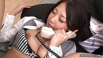 Asian sluts get pounded in threeway